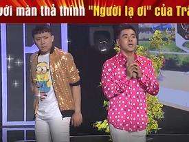 Vắng Hari Won, Trấn Thành 'thả thính' trai đẹp ngay trên sóng truyền hình