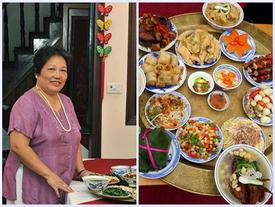 Cỗ Tết xưa qua nỗi nhớ của nghệ nhân ẩm thực Hà Nội