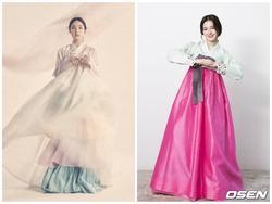 Diện Hanbok, dàn mỹ nhân Hàn khoe vẻ đẹp không tì vết