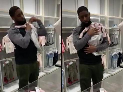 Cách ông bố lựa quần áo cho con cực dễ thương khiến hàng triệu trái tim tan chảy