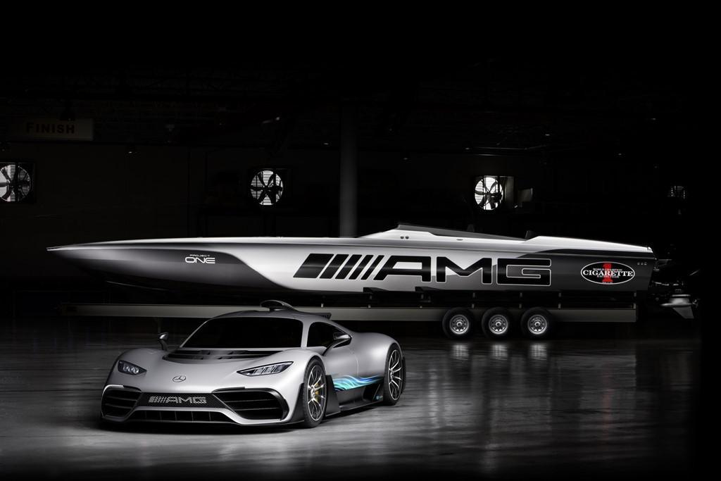 Du thuyền 3.100 mã lực lấy cảm hứng Mercedes-AMG Project One-1