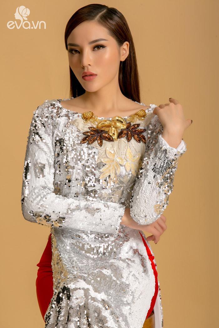 Mới đầu năm Hồ Ngọc Hà đã đụng hàng áo dài với Hoa hậu Kỳ Duyên-1