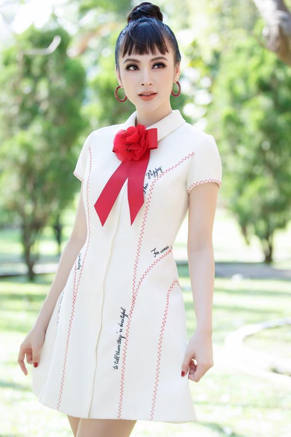 Chiếc váy khiến Hoa hậu Đỗ Mỹ Linh, Chi Pu và Angela Phương Trinh đều mê mẩn-3
