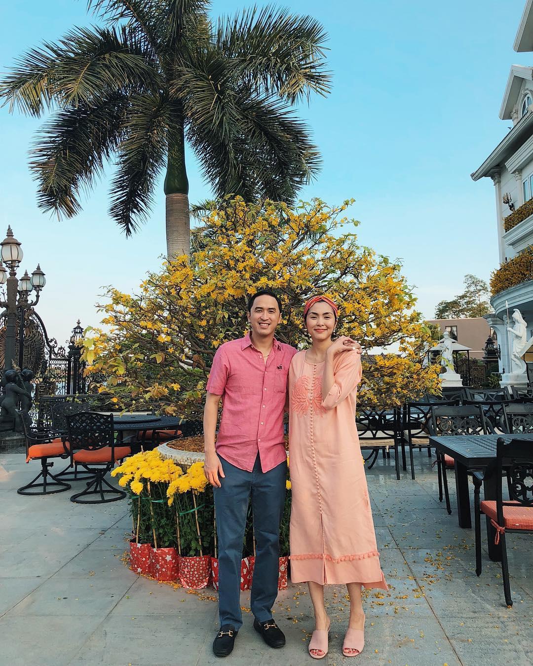 Tin sao Việt: Tăng Thanh Hà hạnh phúc trong vòng tay ông xã ở dinh thự triệu đô-1