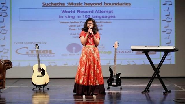 Kinh ngạc cô bé 12 tuổi hát được 102 thứ tiếng trong 6 giờ đồng hồ, có cả tiếng Việt-2