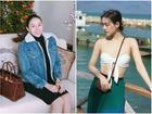 Lê Hà khoe vòng 3 to bất ngờ trước nghi vấn mang thai, Khánh Linh khoe vòng 1 dù body 'trước sau như một'