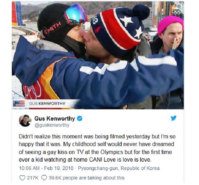 Olympic 2018: Khoảnh khắc của nam vận động viên Mỹ gây xúc động mạnh-2