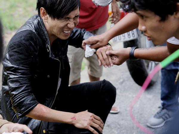 Không chỉ Harry Lu, nhiều Sao Việt cũng từng gặp tai nạn nguy hiểm đến tính mạng-5