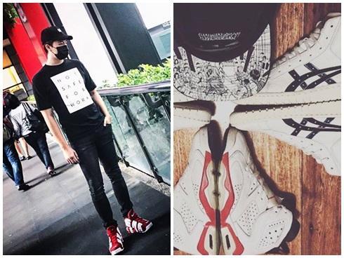 'Ngất ngây' trước bộ sưu tập giầy sneaker đắt đỏ của Harry Lu