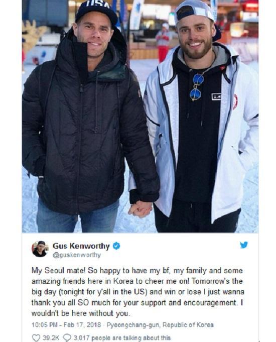 Olympic 2018: Khoảnh khắc của nam vận động viên Mỹ gây xúc động mạnh-7