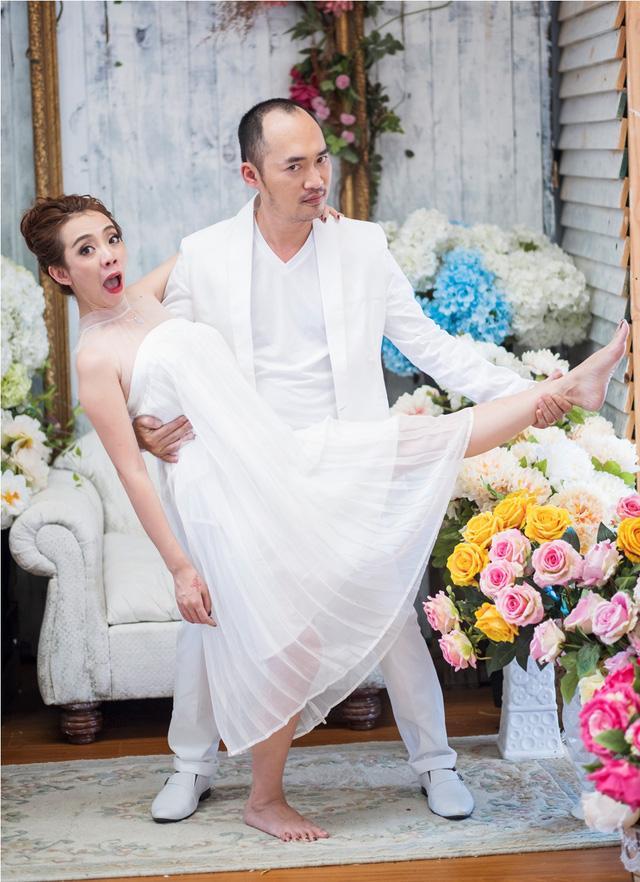Thu Trang thấy sượng khi đóng cảnh nóng mùi mẫn cùng chồng-2