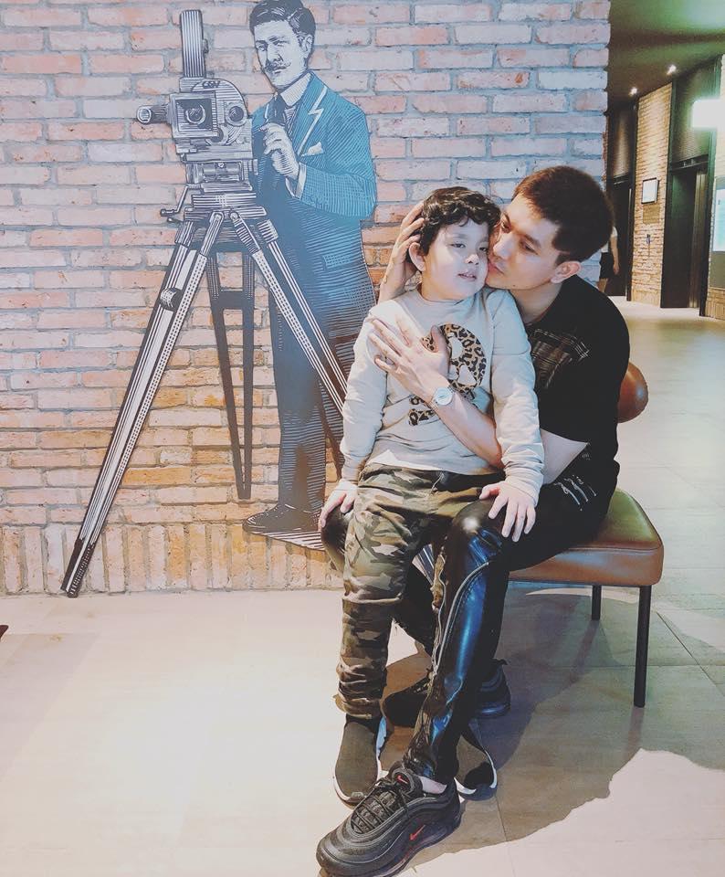 Trương Quỳnh Anh và Tim né tránh chung đôi dù cùng đưa con đi xem phim?-3