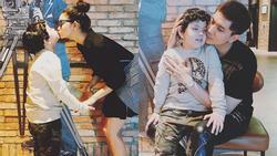 Trương Quỳnh Anh và Tim né tránh chung đôi dù cùng đưa con đi xem phim?
