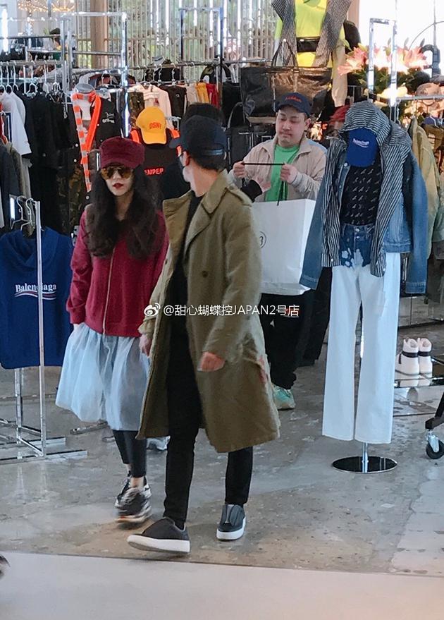 Lý Thần dành hẳn một ngày để dẫn Phạm Băng Băng đi mua sắm-1