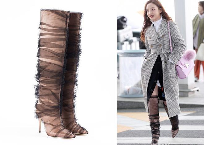Goo Hara lên đường tham dự tuần lễ thời trang Milan, nhưng đôi giày nhìn như cây giò lụa của cô nàng mới là trung tâm bàn tán-2