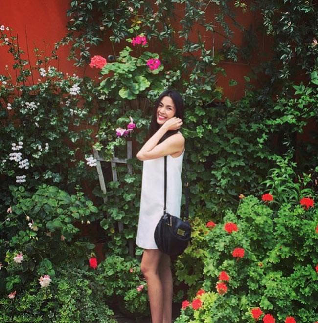 Nhìn lại phong cách của bà bầu đẹp nhất Vbiz Tăng Thanh Hà qua những lần bầu bí-3
