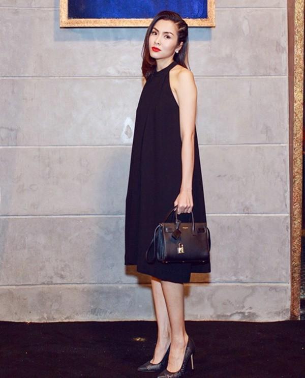 Nhìn lại phong cách của bà bầu đẹp nhất Vbiz Tăng Thanh Hà qua những lần bầu bí-4