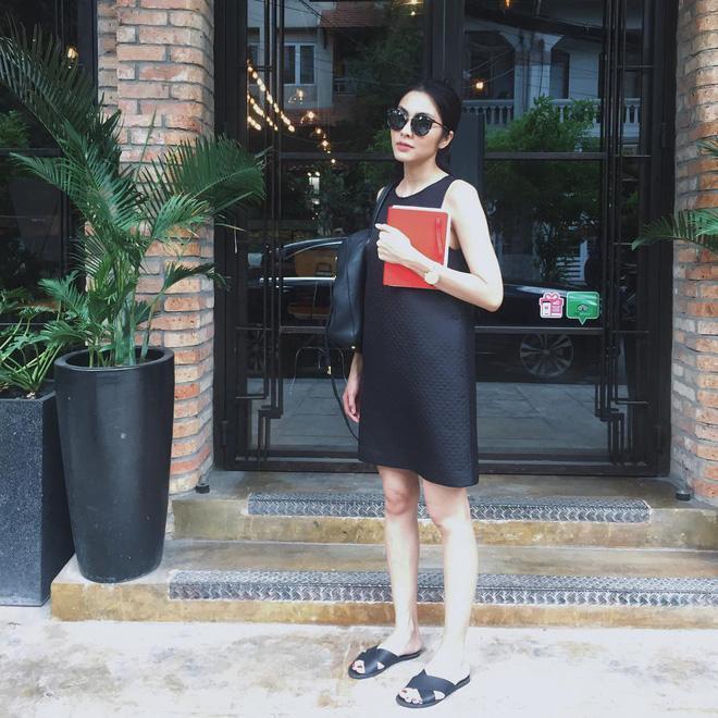 Nhìn lại phong cách của bà bầu đẹp nhất Vbiz Tăng Thanh Hà qua những lần bầu bí-7