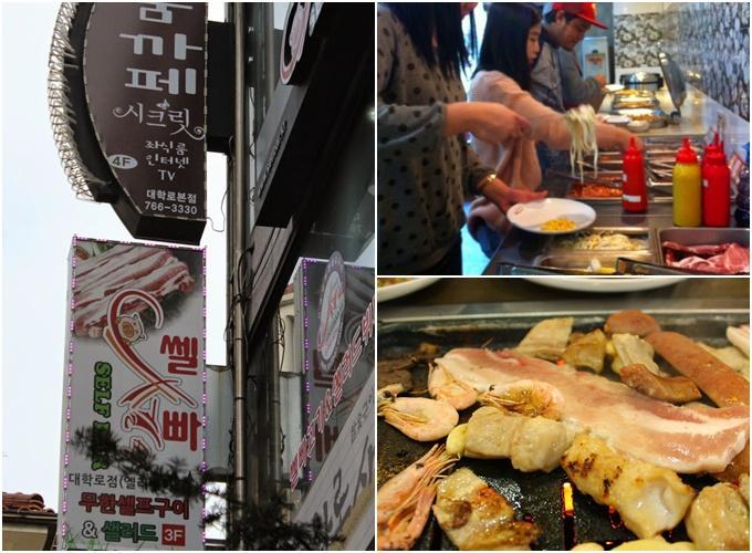 Đến Seoul mùa hoa anh đào, ghi nhớ ba tiệm buffet thịt nướng bình dân-3