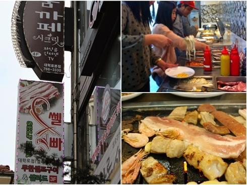 Đến Seoul mùa hoa anh đào, ghi nhớ ba tiệm buffet thịt nướng bình dân