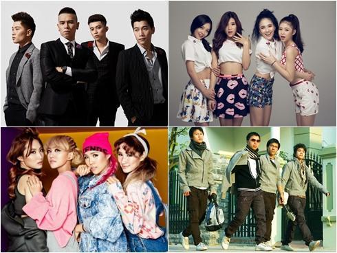 Khám phá bí mật đằng sau tên các nhóm nhạc nổi nhất hiện nay của V-pop