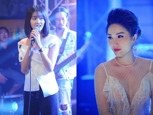 Trương Mỹ Nhân tự tin đi hát là nhờ Bảo Thy truyền cảm hứng