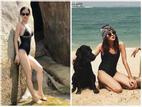 Chẳng hẹn mà gặp, Tú Hảo - Khánh Linh The Face khoe dáng sexy cùng bikini dịp đầu năm