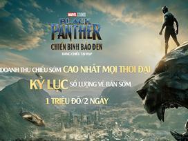 'Black Panther: Chiến Binh Báo Đen' vượt qua 'Em chưa 18' và 'Fast 8' lập kỷ lục doanh thu phòng vé