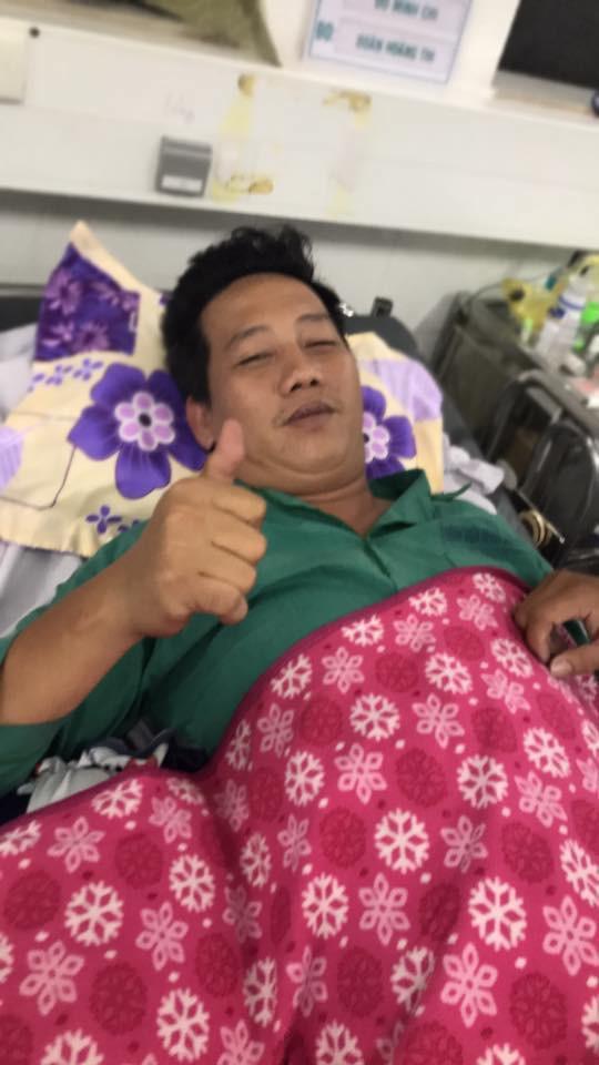 Cát Phượng thông báo tình hình sức khoẻ của diễn viên Lê Nam sau cơn đột quỵ-1