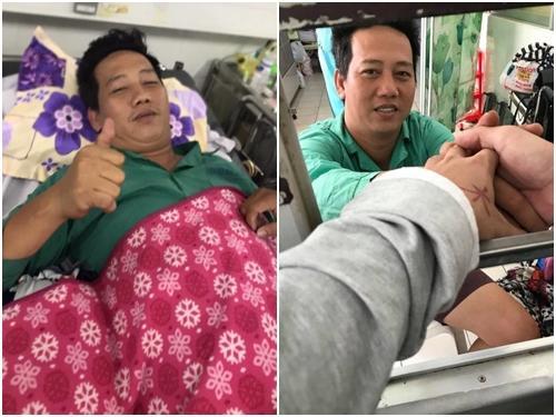 Cát Phượng thông báo tình hình sức khoẻ của diễn viên Lê Nam sau cơn đột quỵ