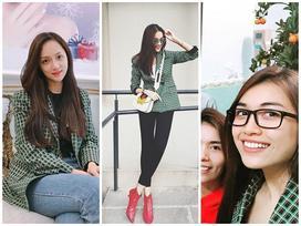 Chiếc áo hot nhất đầu năm 2018 được Thanh Hằng, Hương Giang, Lệ Hằng cùng diện