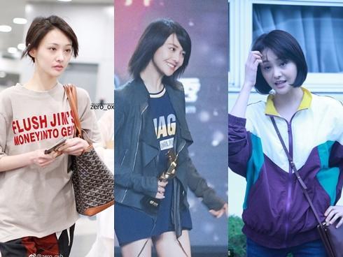 Gu thời trang tuềnh toàng của 'Nữ thần thanh xuân' Trịnh Sảng