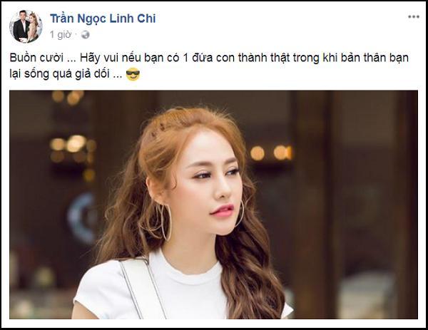 Năm mới, Linh Chi gây chú ý khi đá xéo Lý Phương Châu-3