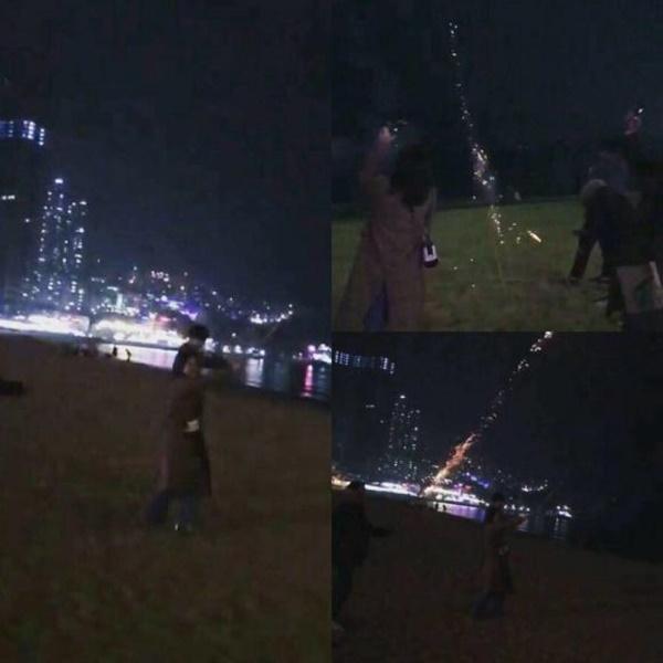 Chi Pu và bạn trai tin đồn ngắm pháo hoa tại Đài Loan?-1