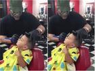 Biện pháp giúp các nhóc tì ngồi im khi đi cắt tóc