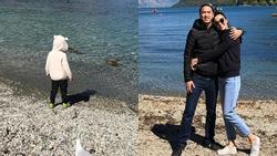 Quý tử nhà Tăng Thanh Hà lớn phổng phao du xuân tại New Zealand?