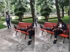 Thanh niên FA nghiện chọc phá cặp tình nhân trong công viên