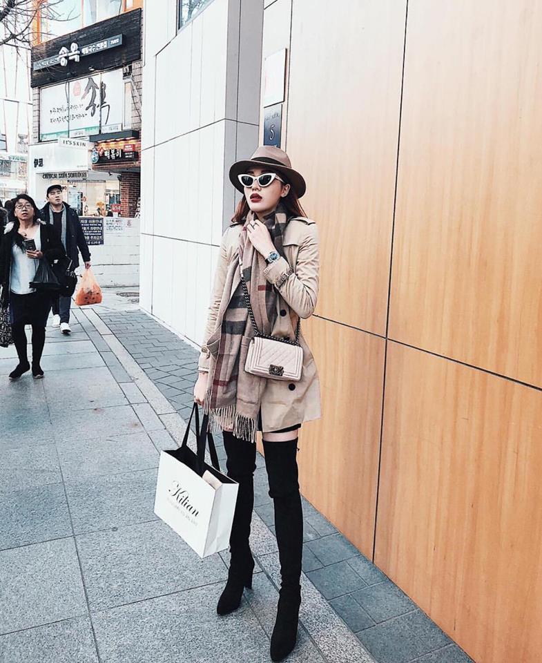 Kỳ Duyên - Diệp Lâm Anh - Hà Lade: Bộ ba yêu nữ hàng hiệu mới của showbiz Việt-5