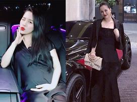 Hot girl Trang Pilla tái xuất với vóc dáng thon gọn sau gần 2 tháng sinh con