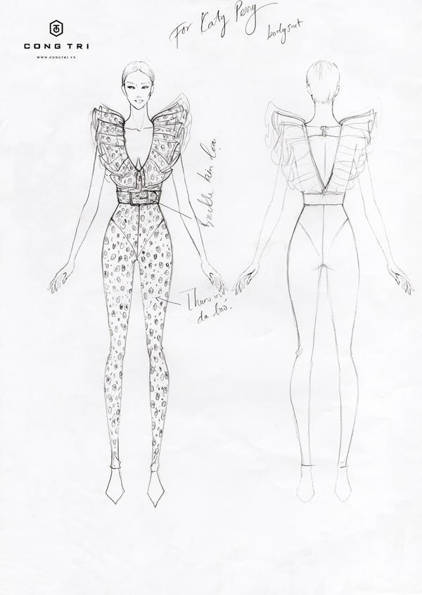 Katy Perry tiếp tục chọn NTK Công Trí thực hiện trang phục cho show diễn mới-5