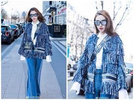 Thần thái hơn người, Angela Baby chiếm trọn spotlight tuần lễ thời trang Paris