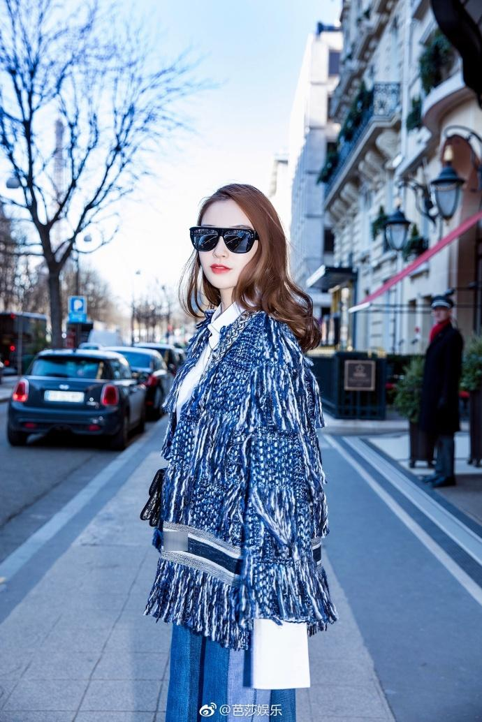 Thần thái hơn người, Angela Baby chiếm trọn spotlight tuần lễ thời trang Paris-8