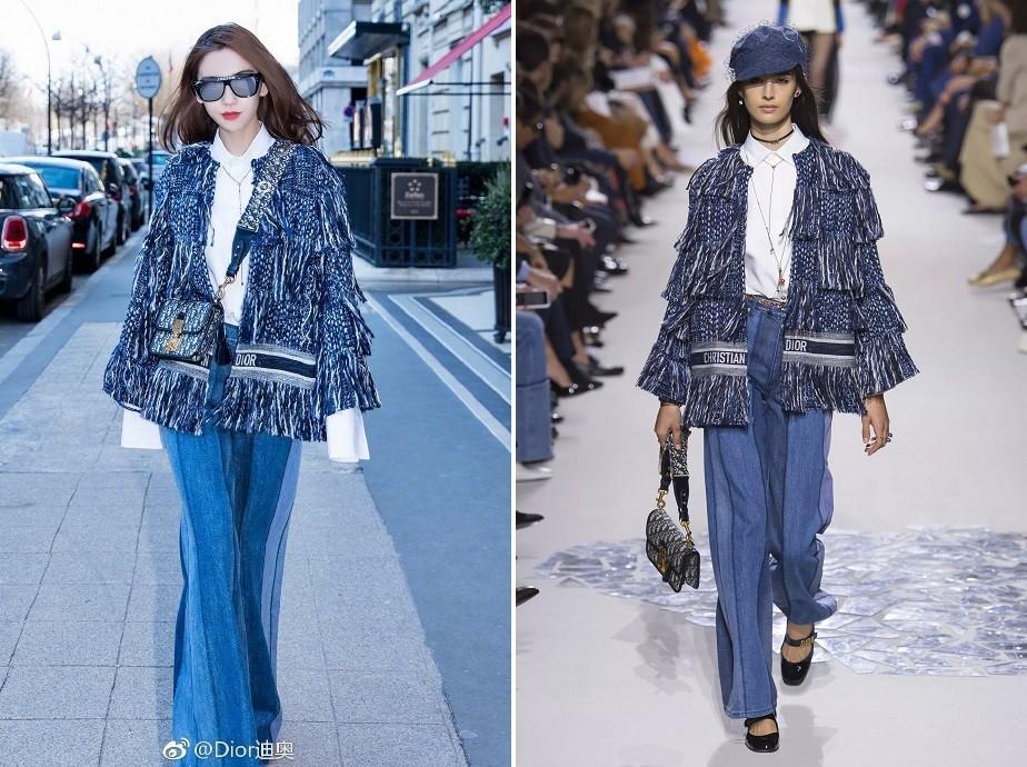 Thần thái hơn người, Angela Baby chiếm trọn spotlight tuần lễ thời trang Paris-3