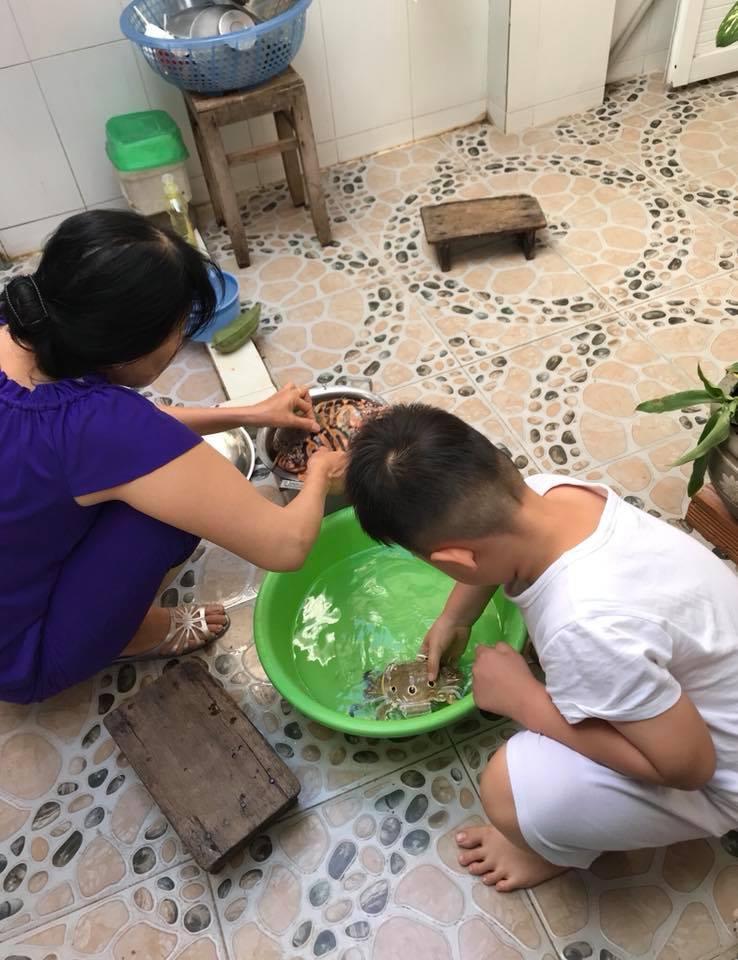 Lê Phương: Cà Pháo tin rằng bố mẹ Trung Kiên là ông bà nội ruột-2