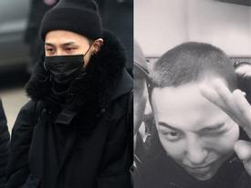 Big Bang G-Dragon cạo trọc, chính thức tạm biệt người hâm mộ đi nhập ngũ