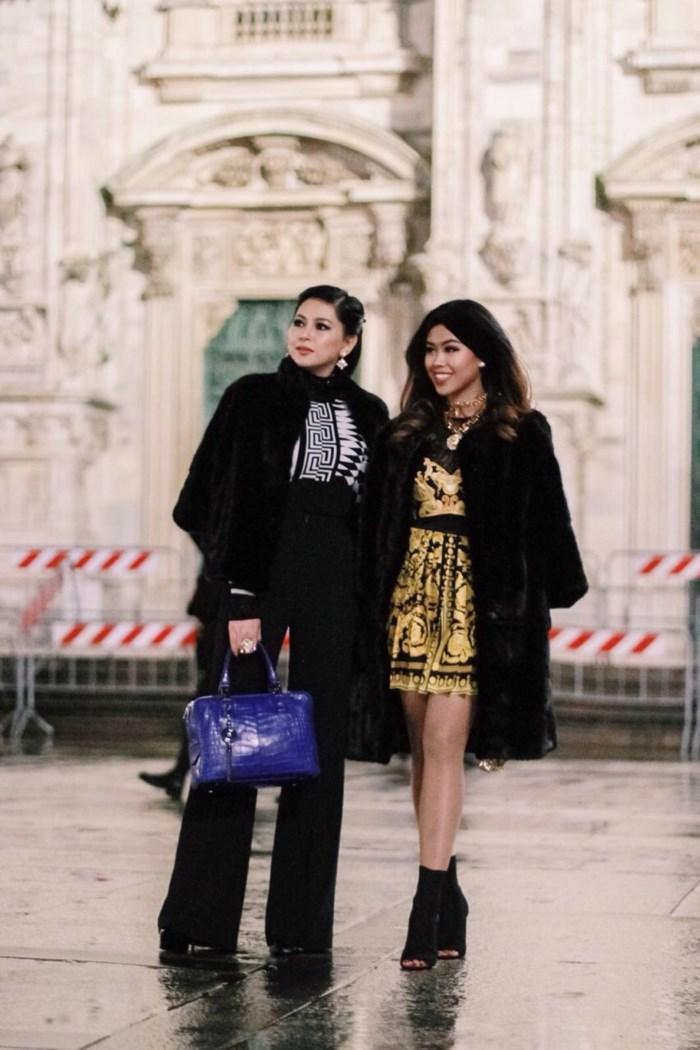 Em chồng Tăng Thanh Hà xứng tầm con nhà giàu tại Tuần lễ thời trang Milan 2018-1