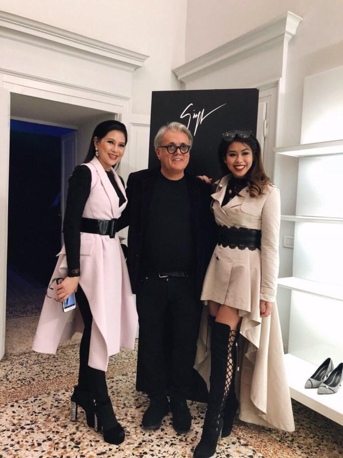 Em chồng Tăng Thanh Hà xứng tầm con nhà giàu tại Tuần lễ thời trang Milan 2018-6