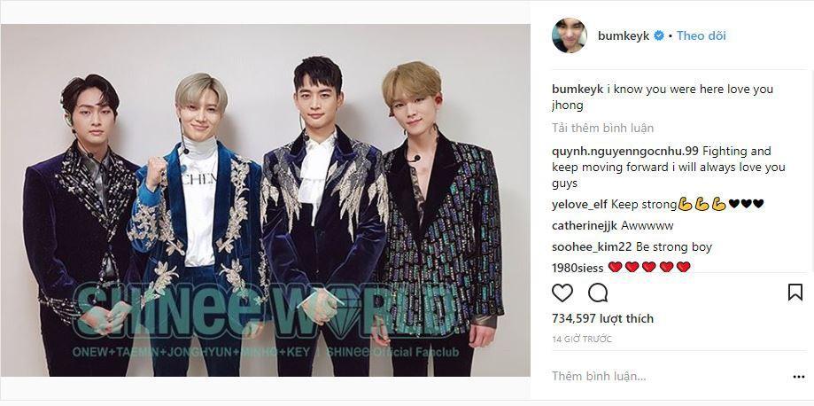Key nói với Jonghyun sau concert của SHINee: Em biết anh đã ở đây-1