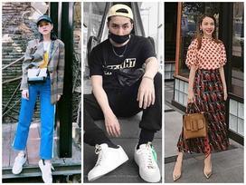 Street style đầu năm của dàn sao Việt chỉ toàn hàng hiệu là hàng hiệu