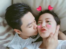 Khá kín tiếng trong chuyện tình cảm, cuối cùng Phan Thành cũng khoe ảnh hôn Xuân Thảo ngọt ngào
